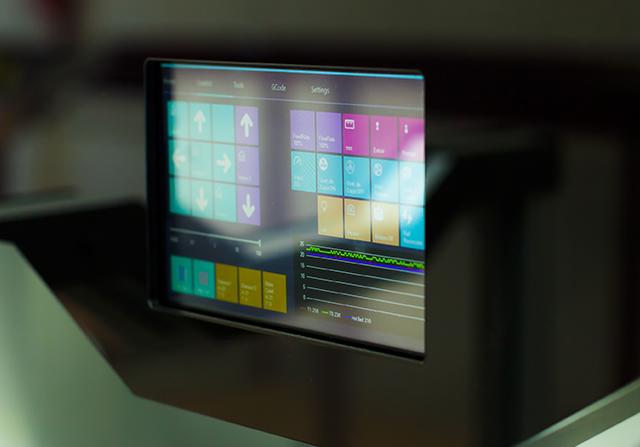 Pantalla táctil impresora JCR 1000 Dual