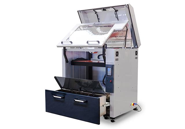 Impresora JCR 1000 Dual abierta